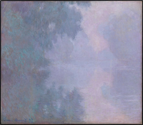 Claude Monet painting, Mead Art Museum