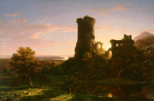 Thomas Cole painting, Mead Art Museum
