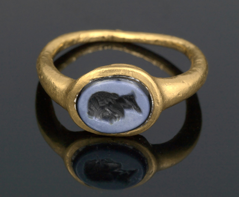 Roman ring, Williams College Museum of Art