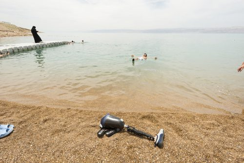 "At The Dead Sea, Jordan Archival Inkjet Print 17 X 22"", Edition Of 25 (other Sizes Available)"