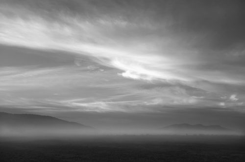 """Clouds, Mountains, And Mist Archival Inkjet Print 17 X 22"""", Edition Of 25 (other Sizes Available)"""