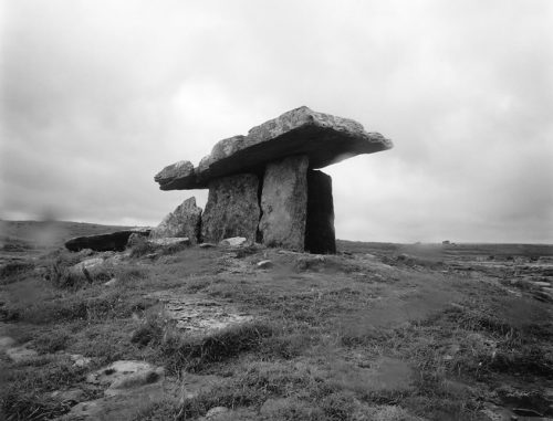"Dolmen, The Burren, Ireland Archival Inkjet Print 17 X 22"", Edition Of 25 (other Sizes Available)"