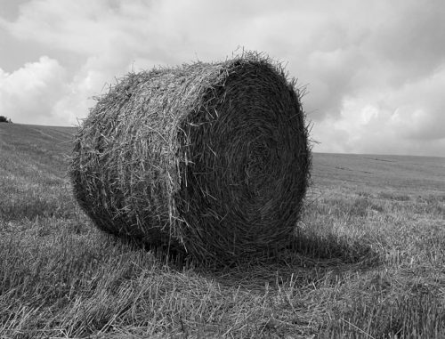 "Hay Bale, Umbria, Italy Archival Inkjet Print 17 X 22"", Edition Of 25 (other Sizes Available)"