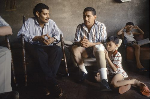 "Interview With Marlon, Leon, Nicaragua Archival Inkjet Print 17 X 22"", Edition Of 25 (other Sizes Available)"