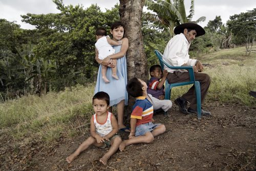 "Roberto Daniel Gonzalez And Family, Asturias, Nicaragua Archival Inkjet Print 17 X 22"", Edition Of 25 (other Sizes Available)"